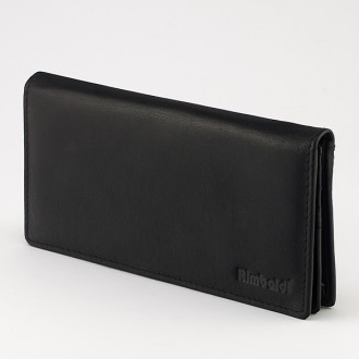 КОД : 2211609 Дамски портфейл от естествена кожа в черен цвят