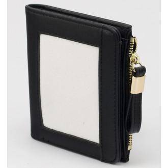 КОД : 24319 Дамски портфейл от плътна и висококачествена еко кожа в черен цвят