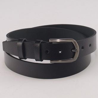 КОД : 0205 Мъжки колан от плътна и висококачествена - телешка естествена кожа 3,5 см в черен цвят